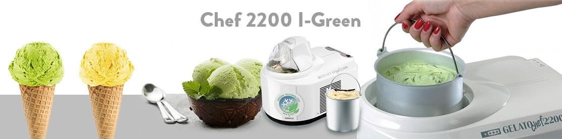 Gelato Chef 2200 I-Green